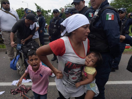 México y los migrantes: desamparo dantesco