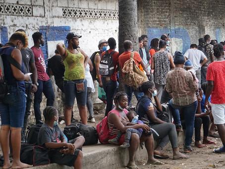 Nueva ola de migrantes haitianos llega a Chiapas