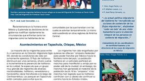 """Hoja informativa """"Noticias desde el Sur"""""""