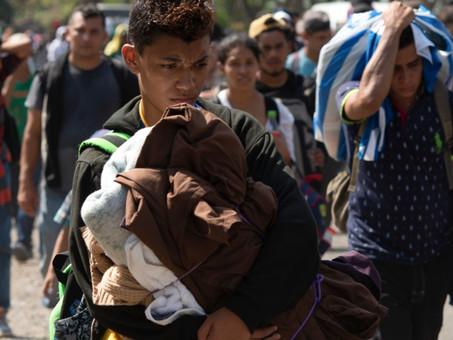 Nueva caravana de migrantes busca salir de Chiapas rumbo a CDMX para ampararse y seguir a EU