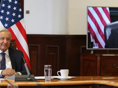 """Harris pide """"ayuda inmediata"""" a Guatemala, Honduras y el Salvador en reunión virtual con AMLO"""