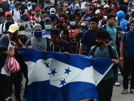 La caravana de migrantes en tiempos de COVID que se dirige a EU a un mes de las elecciones