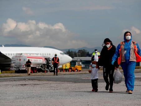 ACNUR denuncia vuelos de expulsión de migrantes de EU hacia México