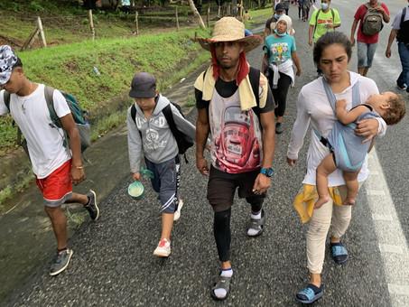 Migrantes venezolanos: de llegar a México en avión a atravesar la selva del Darién y quedar atrapado