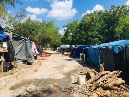 Migrantes de CA en Matamoros acusan al INM de precarizar sus vidas