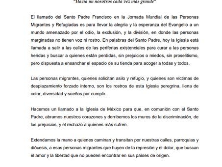 COMISIÓN EPISCOPAL DE PASTORAL SOCIAL