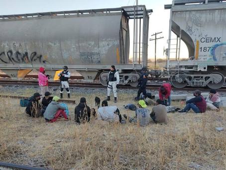 INM detiene a más de mil 100 migrantes durante operativo en trenes
