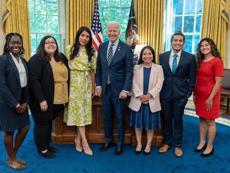 Biden nos dijo que está de lado de migrantes: 'dreamer' Leydy Rangel