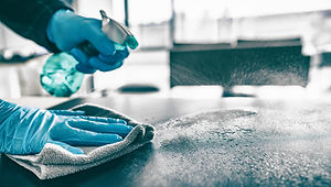 Cleaning home table sanitizing kitchen t