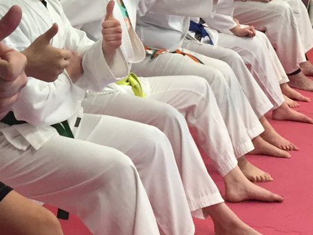 The Karate WarmUp- Use it to engage your students.
