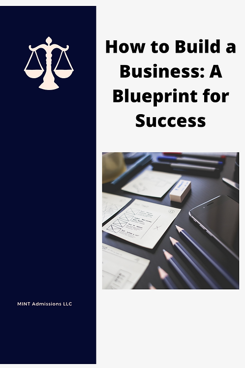 How to Build a Business: A Blueprint for Success