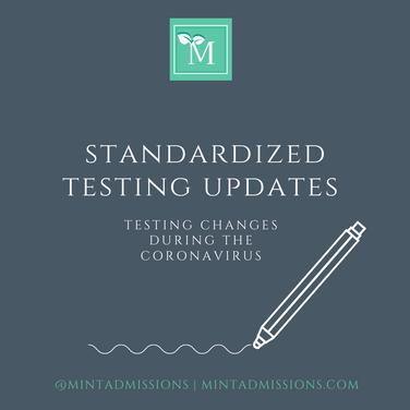 Standardized Testing Changes During the Coronavirus