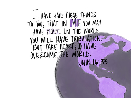 Peace Is Not Worldly