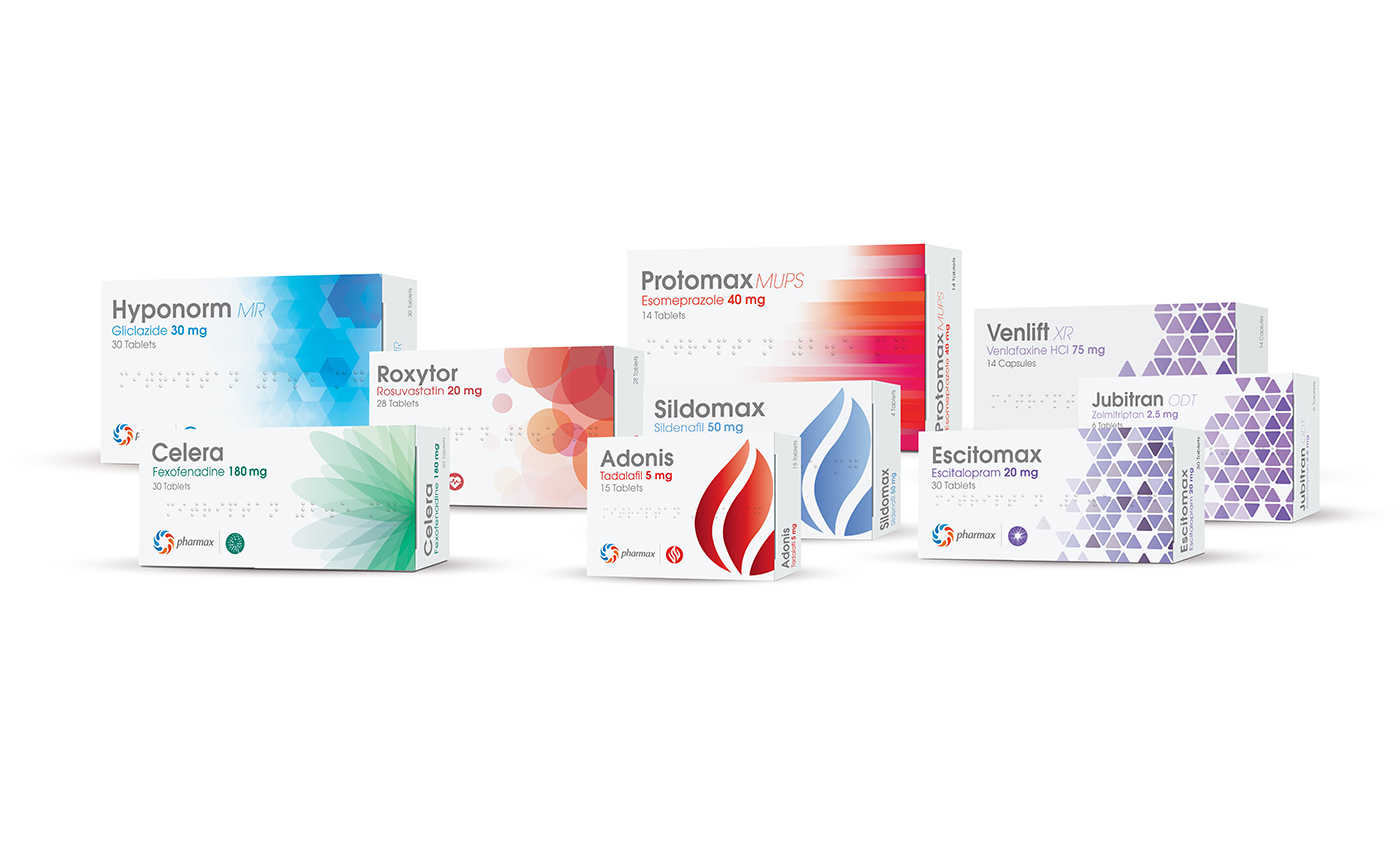 Pharmax products
