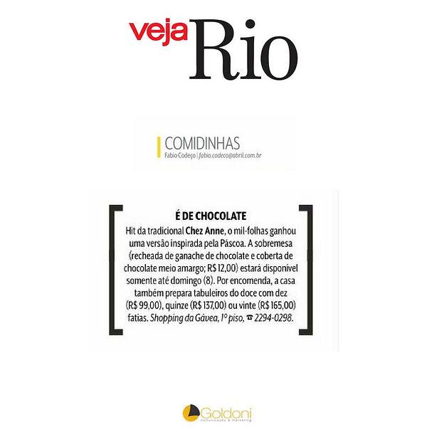 Chez Anne Veja Rio
