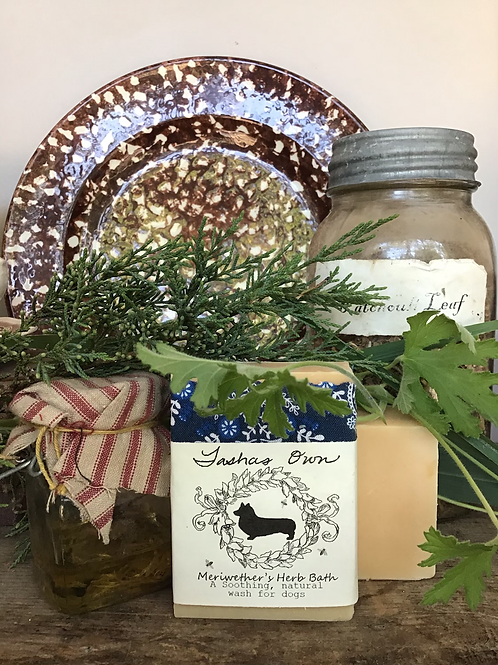 Meriwether's Herb Bath Dog Soap