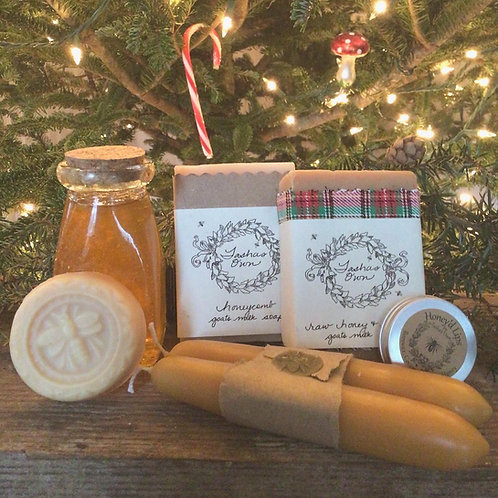 Large Raw Honey Pollintor Gift Set