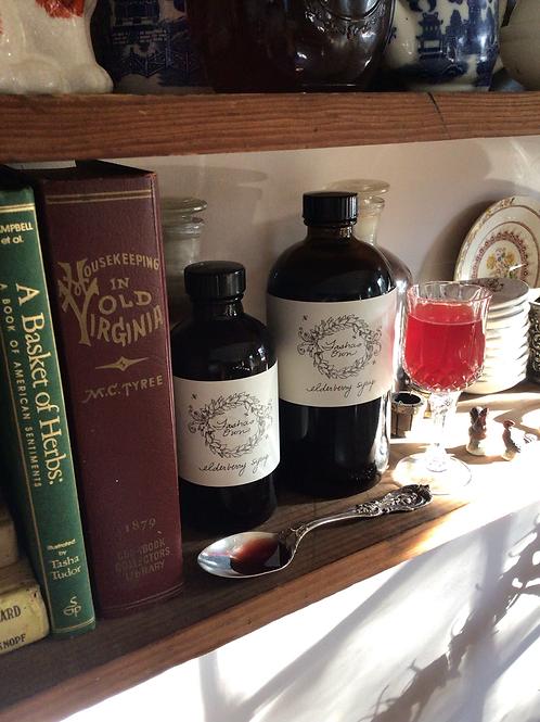 Elderberry syrup 8 ounce