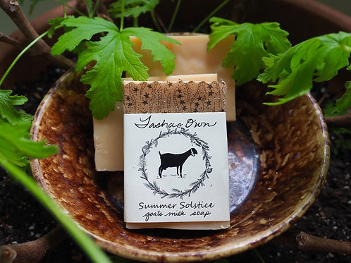 Summer Solstice Bug Repellant Soap