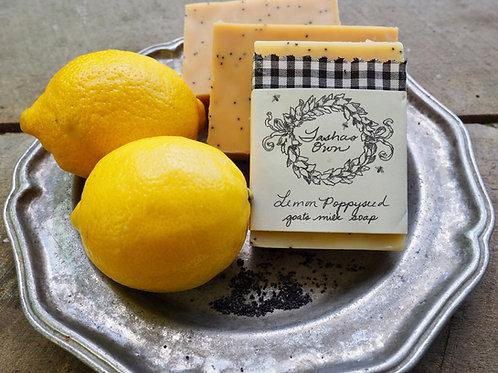 Lemon Poppyseed Soap
