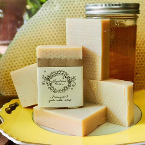 Honeycomb Goat's Milk Soap