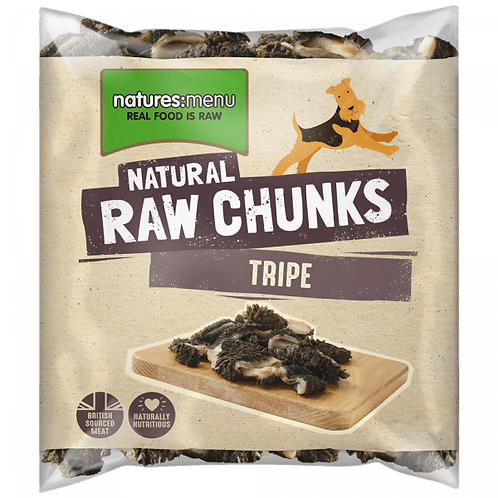 Natures Menu Beef Tripe Chunks