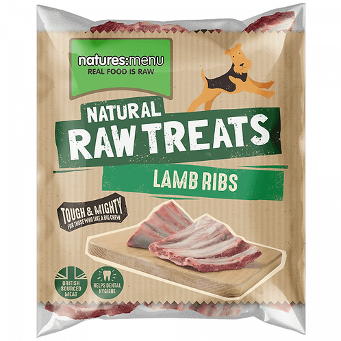 Nature's Menu Raw Lamb Ribs