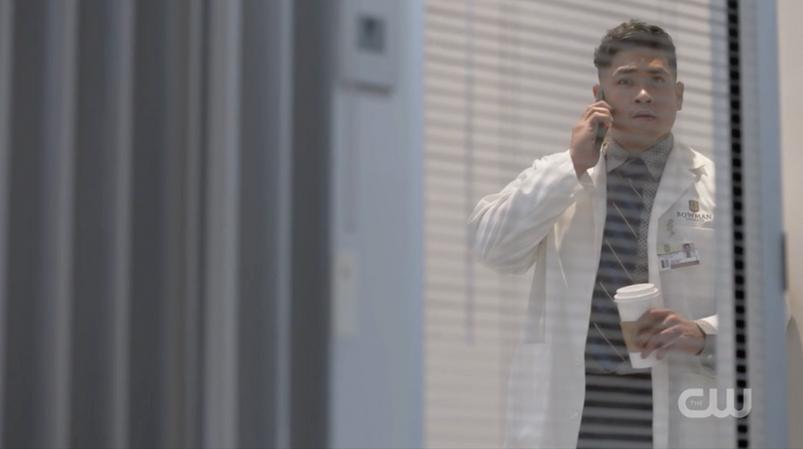 """Actor, Matt Mercurio as Kam """"Black Lightning"""""""