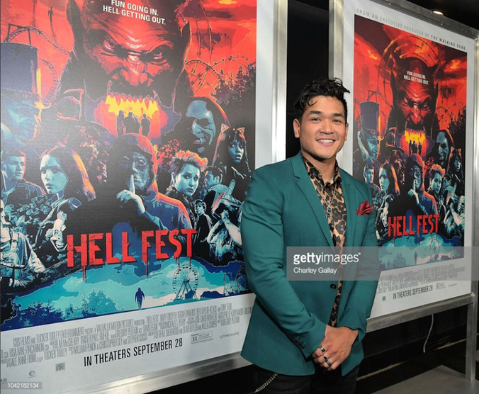 'Hell Fest' premiere with Matt Mercurio, September 27, 2018
