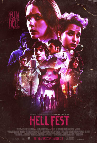 """Hell Fest"" Poster"