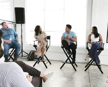 Matt Mercurio on the Rising Stars Panel