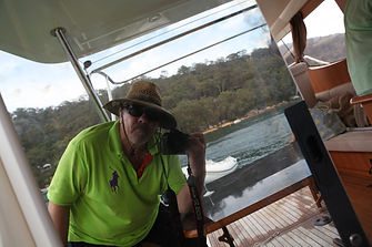 Jens Lichtenberger photography - Selfie on Pittwater 2014 October 25