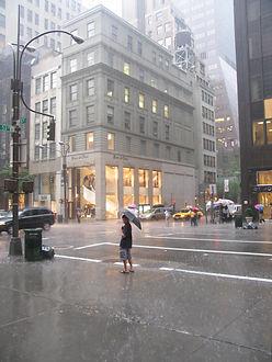Jens Lichtenberger photography - New York Summer Rain