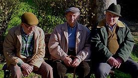 Jens Lichtenberger photography - Three friends in Volterra