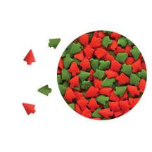 Mini Red & Green Trees 5# Box
