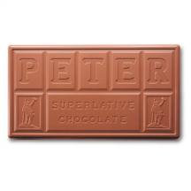 Peters Real Chocolate Broc Milk Choc. 10# Box