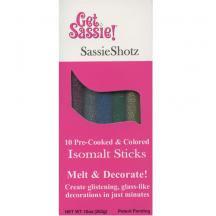 Isomalt Sticks Multi Glitter