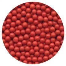 Sugar Pearls Red 28.6# Box