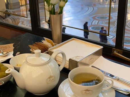 Tea Time at Marchesi 1824