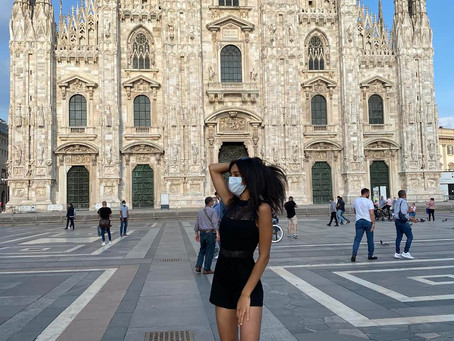 Arrivederci Milano!🌹