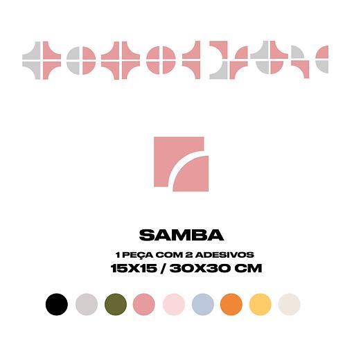 Azulejo Samba_30cm