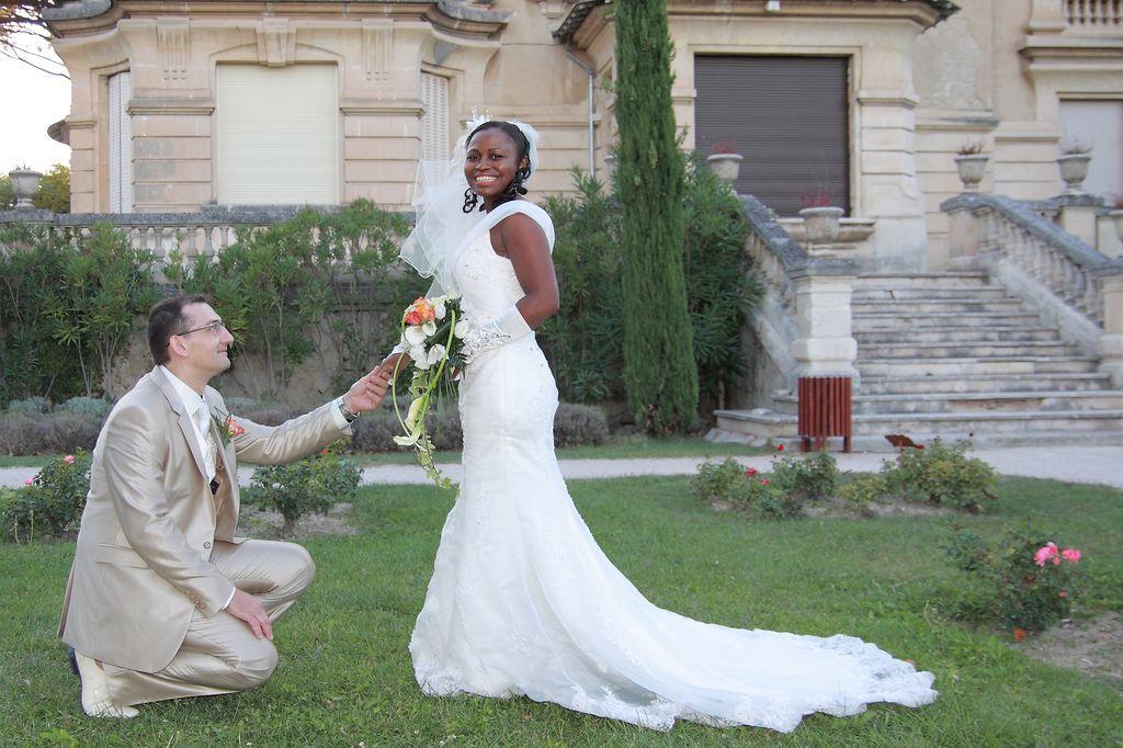 Mariage la Roseraie Vaucluse 1