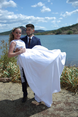 Mariage lac du Salagou 8
