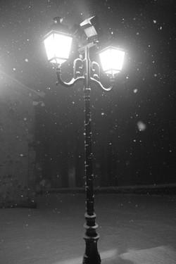 Lumière et neige Aubenas 1