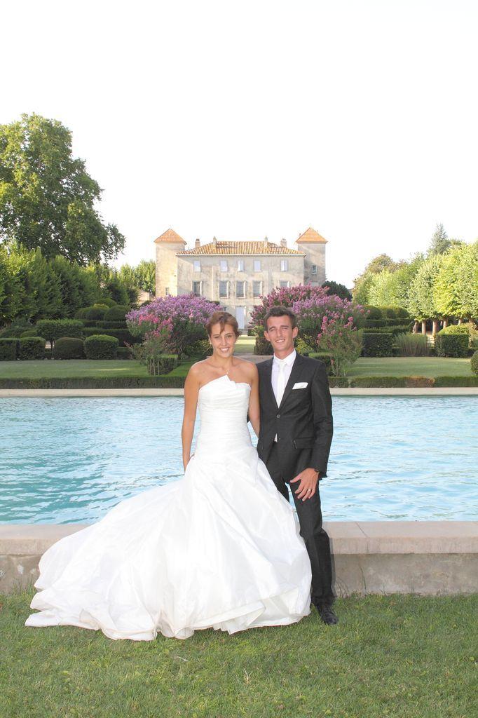 Mariage château Lacoste Nîmes 3