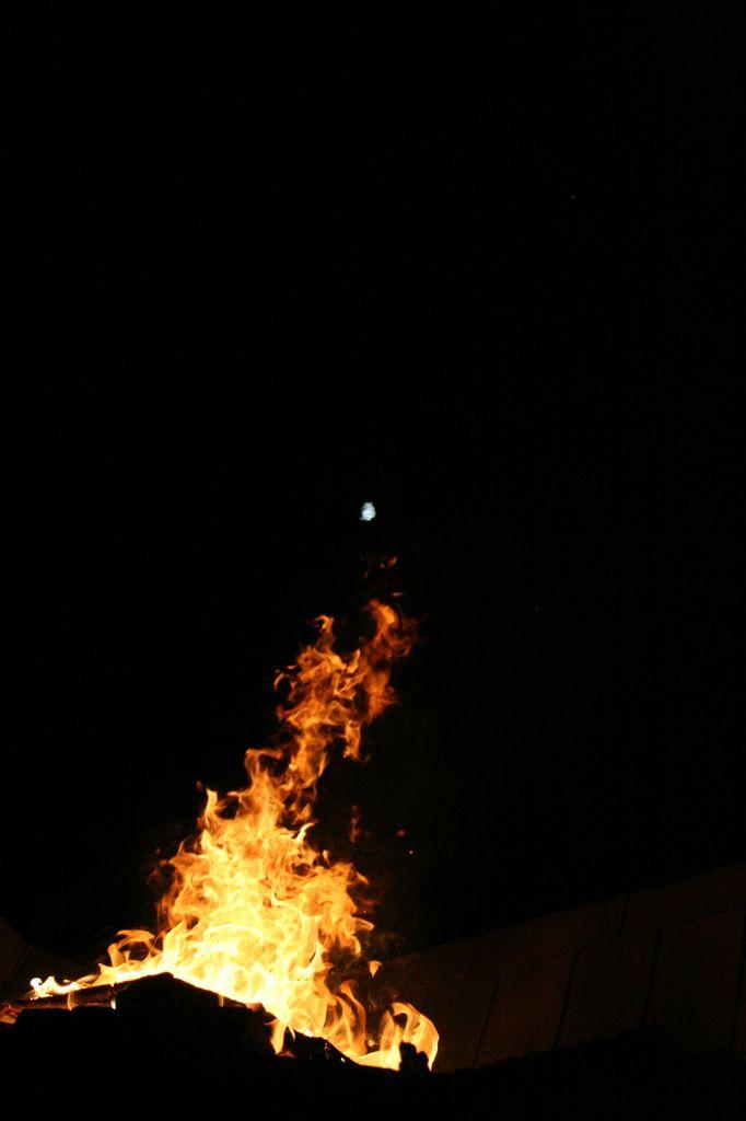 Phénix et la lune