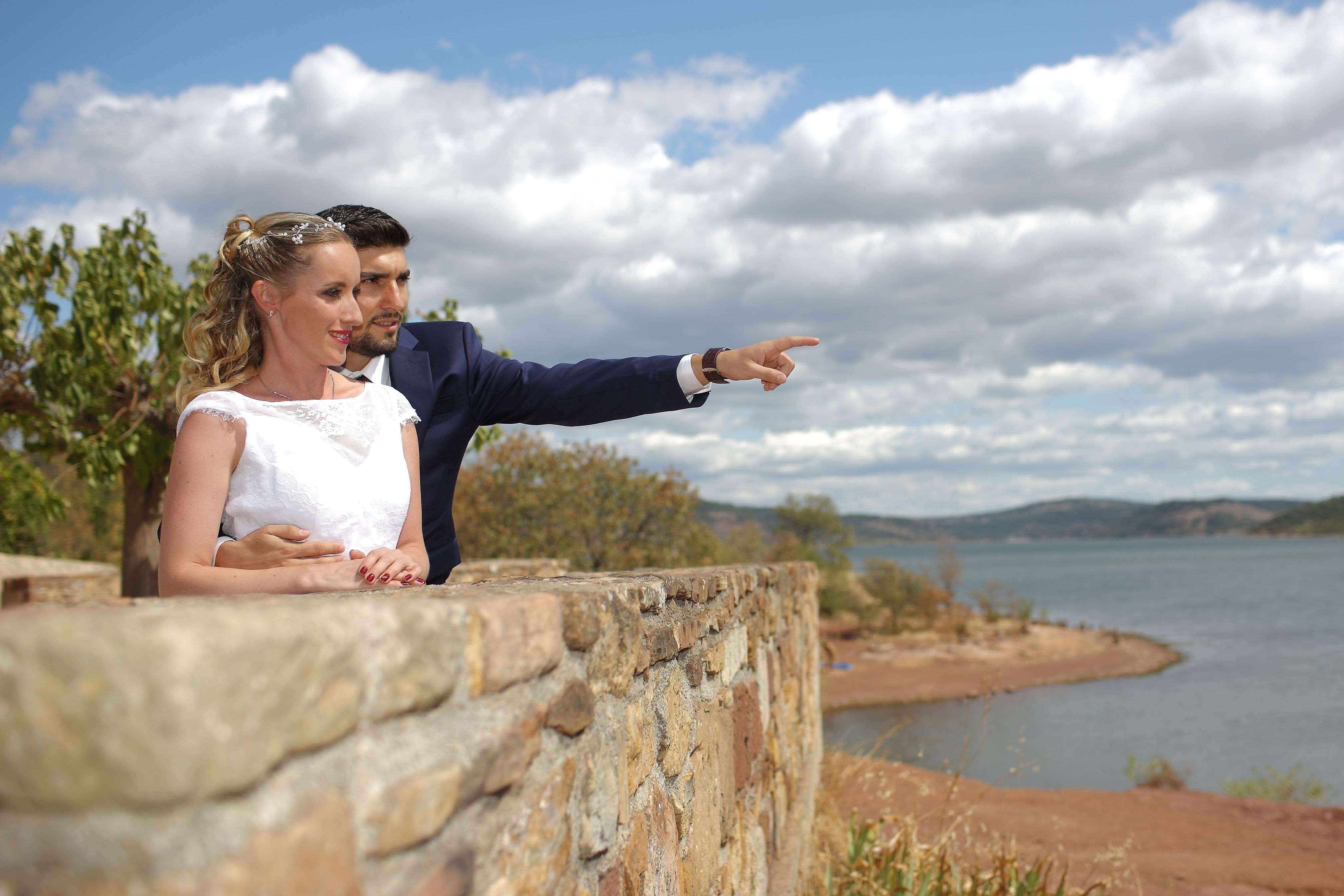 Mariage lac du Salagou 6