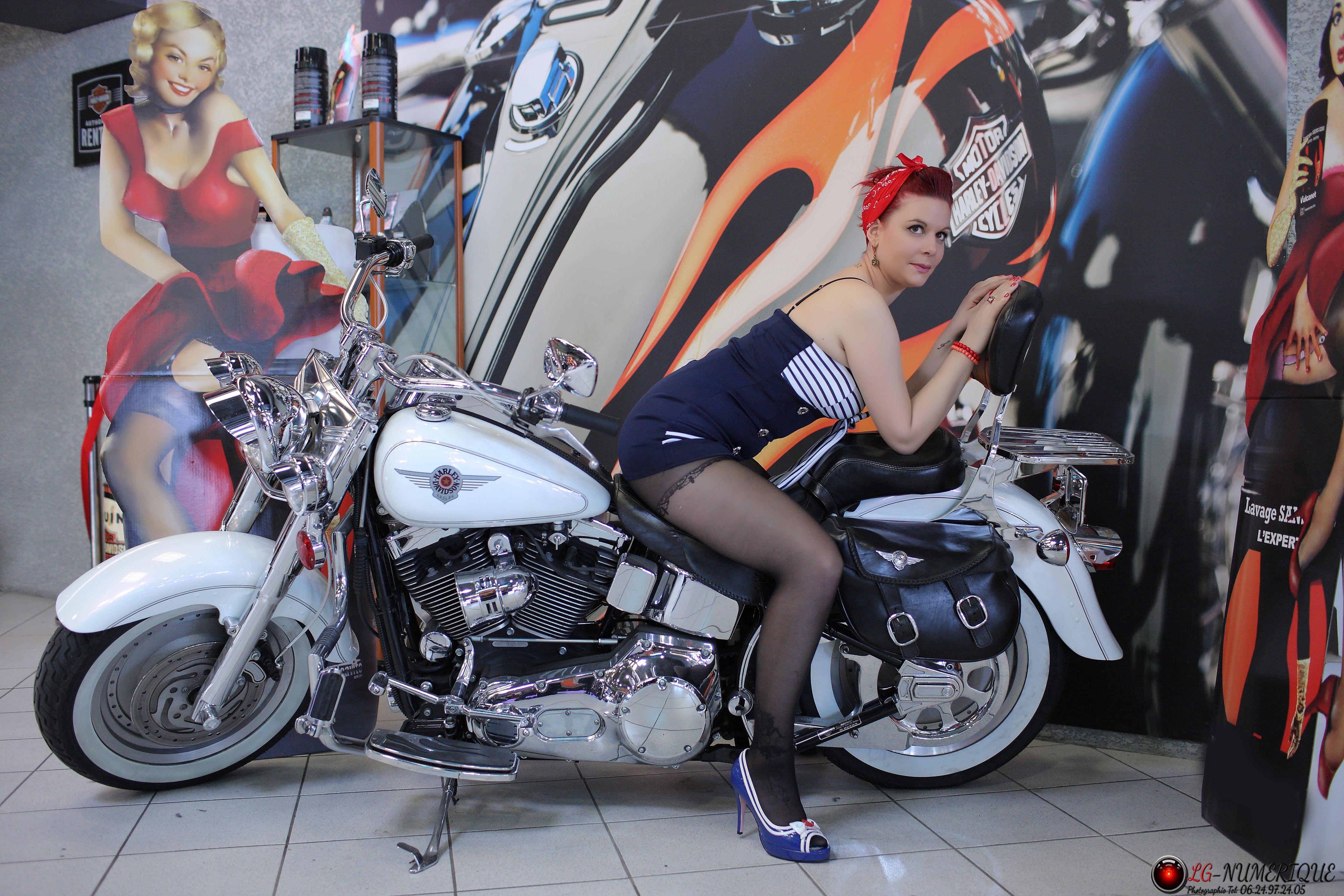 Pin-up Harley-Davidson Montpellier 3
