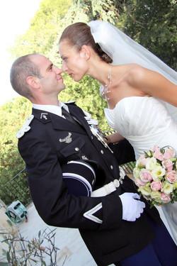 Mariage Gendarmerie Bernis 1