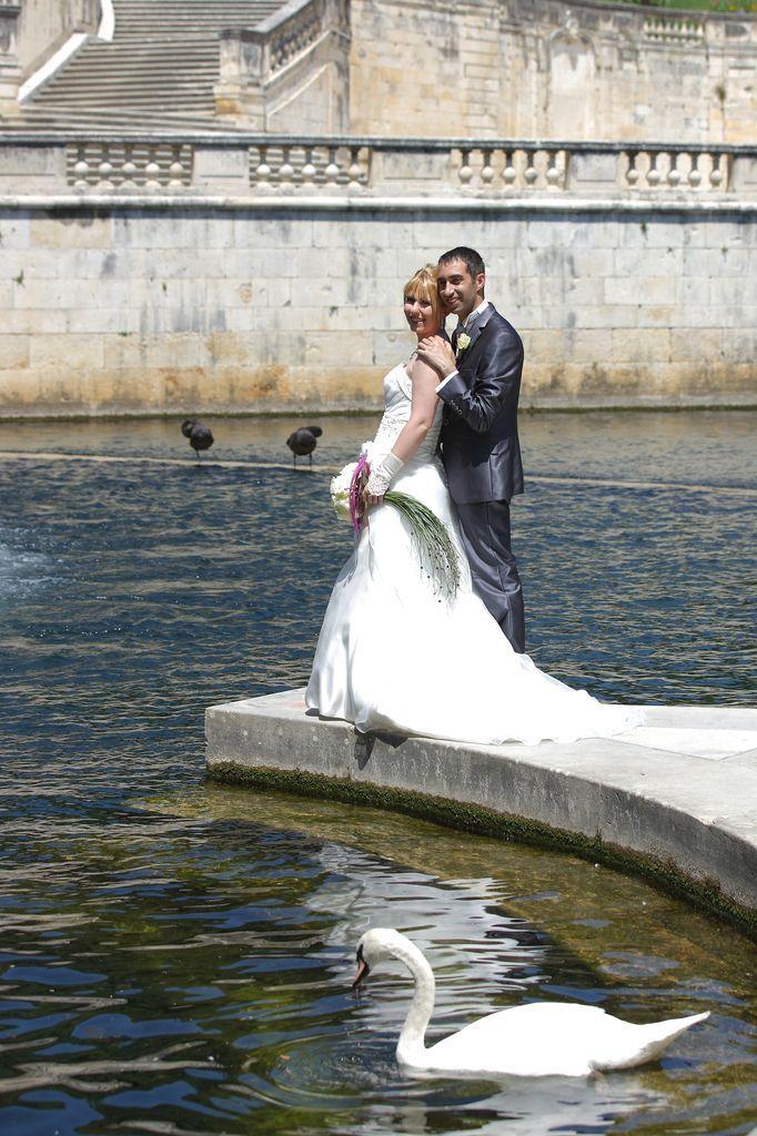 Mariage Jardin  la Fontaine Nîmes 2